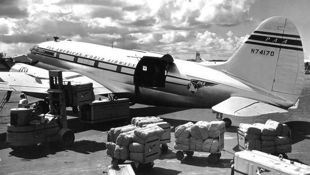 Pacific Group air shipments